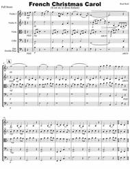 French Christmas Carol (string ensemble)
