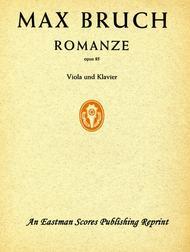 Romanze, fur Viola und Orchester, opus 85