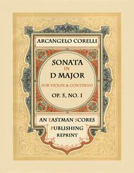Sonata, Op.5, No. 1