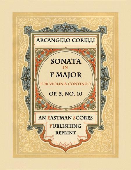 Sonata, Op.5, No. 10