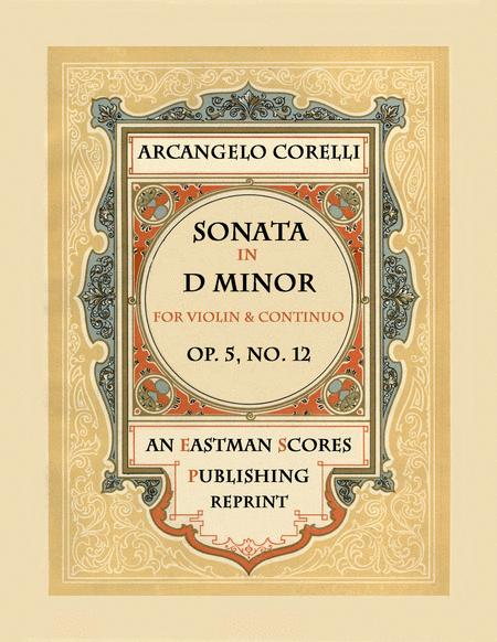 Sonata, Op.5, No. 12