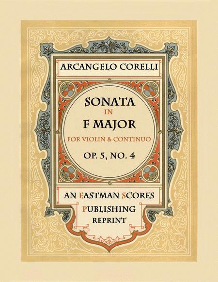 Sonata, Op.5, No. 4