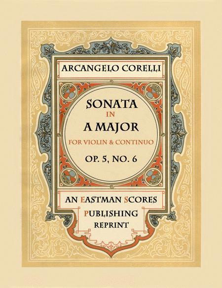 Sonata, Op.5, No. 6