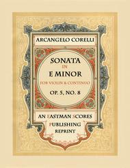 Sonata, Op.5, No. 8