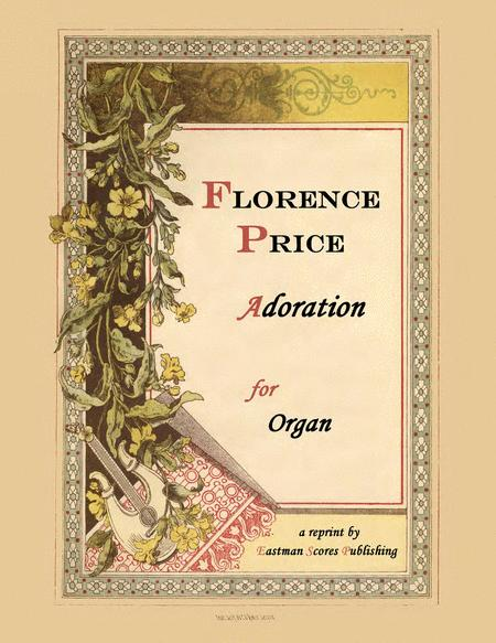 Adoration for organ Cover Art