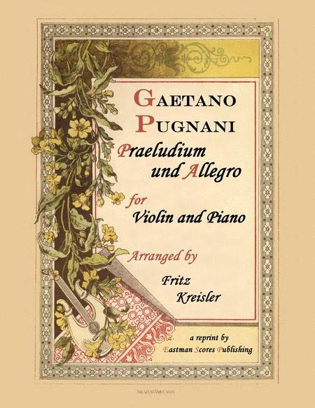 Praeludium & Allegro
