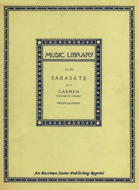 Carmen Fantasy, Op.25