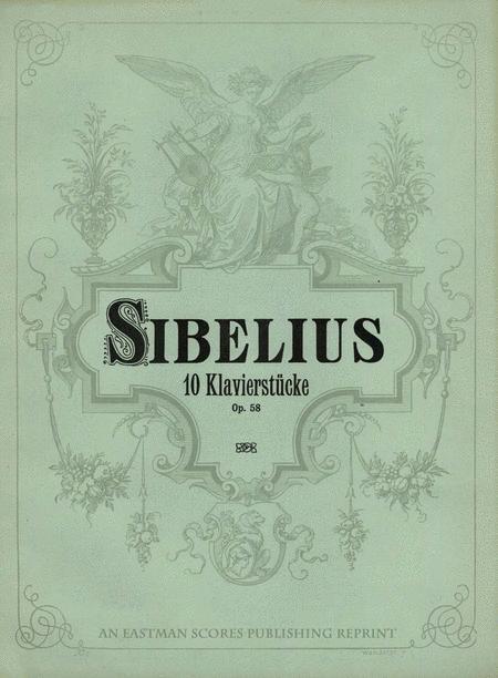 Zehn Klavierstucke. 10 pieces for the pianoforte. Op. 58