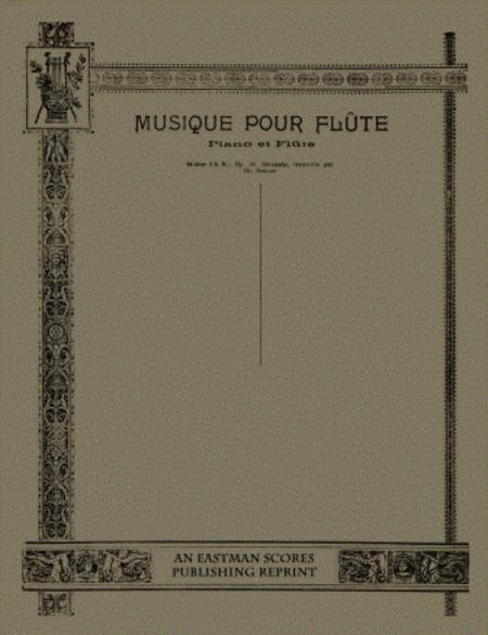 Serenade. Op. 10. Transcrite [pour piano et violon (ou flute)] par Ch. Bordes.