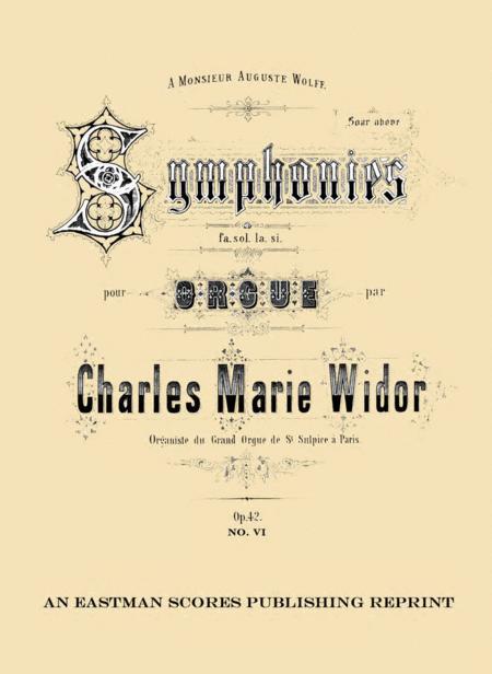 Symphonie VI : op. 42