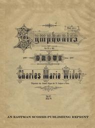 Symphonies pour orgue : op. 42, no. 5, fa