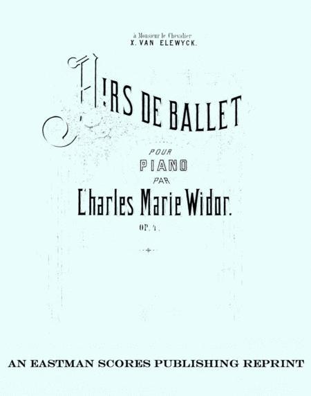 Airs de ballet, pour piano, Op. 4.