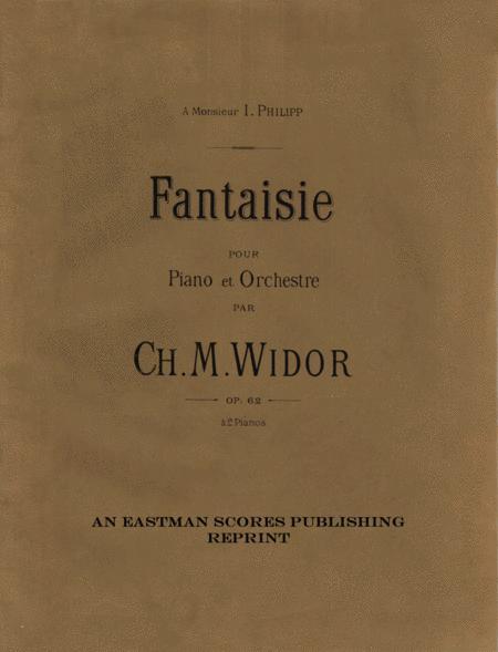Fantaisie pour piano et orchestre. Op. 62. A 2 pianos.