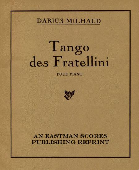 Tango des Fratellini : pour piano