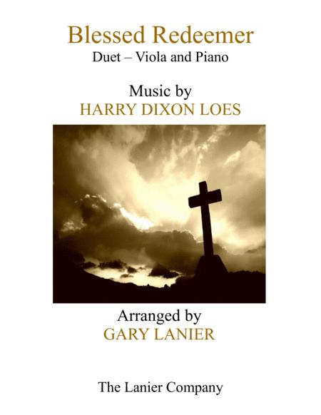 BLESSED REDEEMER(Duet – Viola & Piano with Score/Part)