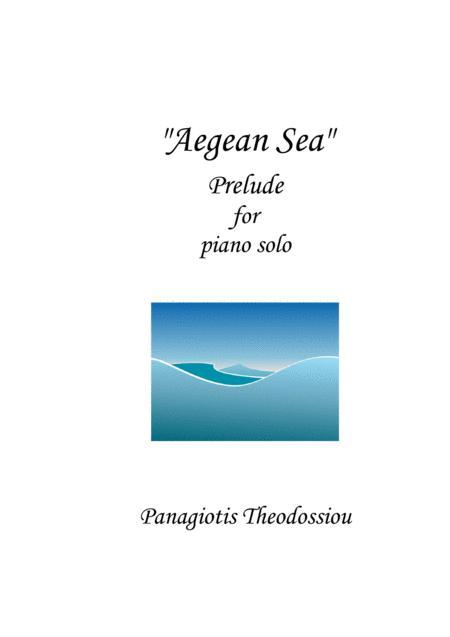 Aegean Sea, Prelude