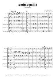 Amboss-Polka - German Polka - Oktoberfest - Flute Quintet