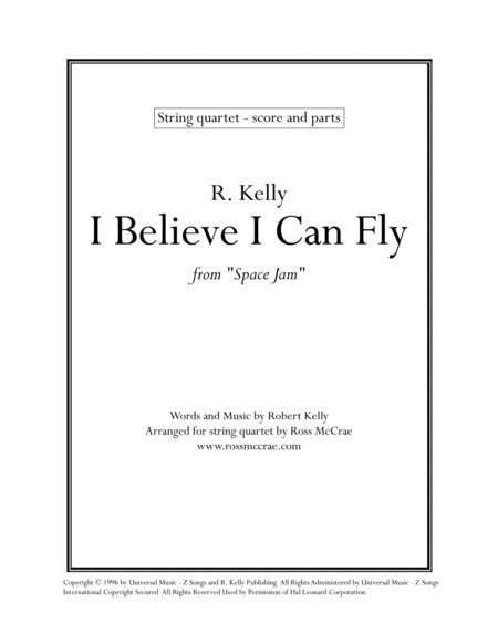 I Believe I Can Fly - String Quartet
