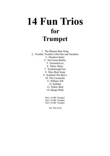 14 Fun Trios For Trumpet