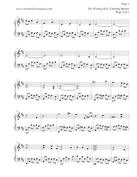 Preview Solo Piano - THE WISHING WELL Songbook - Christine