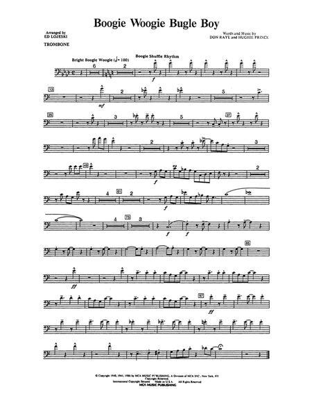 Boogie Woogie Bugle Boy - Trombone