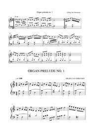 Organ prelude & postlude no. 1