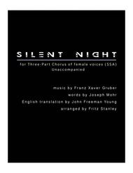 Silent Night - SSA A Cappella
