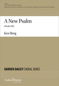 A New Psalm (Psalm 98) (Piano/Choral Score)