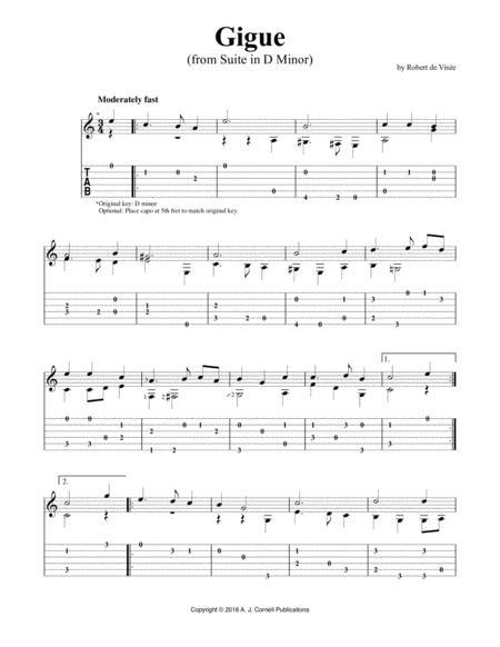 "Suite in D Minor: ""Gigue"""