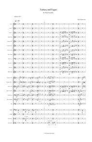 Fantasy and Fugue for Wind Ensemble