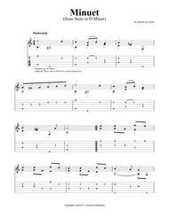 """Suite in D Minor: """"Minuet"""""""