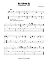 "Suite in G Minor: ""Sarabande"""