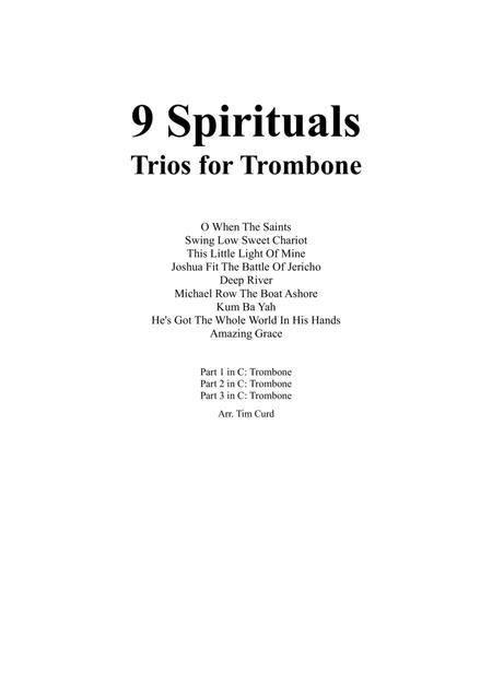 9 Spirituals, Trios For Trumpet, Trumpet And Trombone