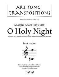 O Holy Night (A major)