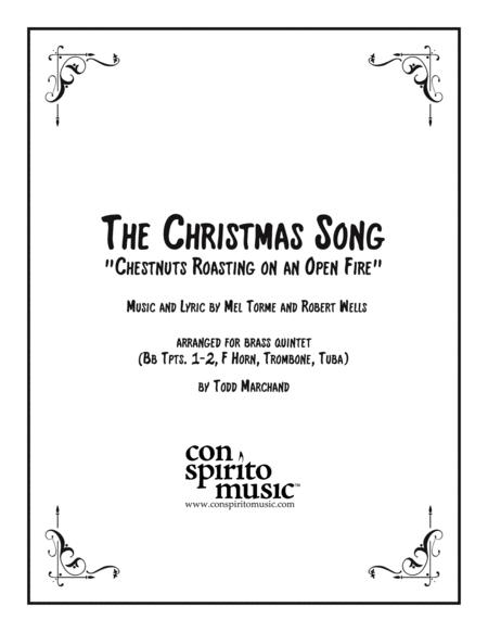 The Christmas Song (Chestnuts Roasting On An Open Fire) — brass quintet