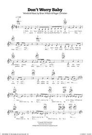 Boys don't worry baby sheet music (fake book) [pdf].
