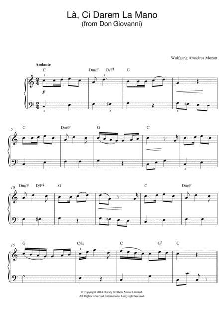 La, Ci Darem La Mano (from Don Giovanni)