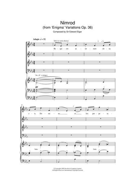 Nimrod (from Enigma Variations Op.36)
