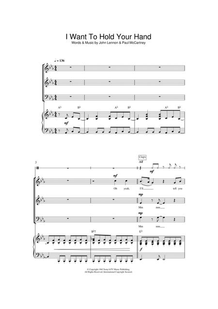 I Want To Hold Your Hand (arr. Jeremy Birchall)