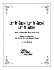 Let It Snow! Let It Snow! Let It Snow! — brass quintet
