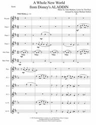 A Whole New World (from 'Aladdin') for Flute Choir