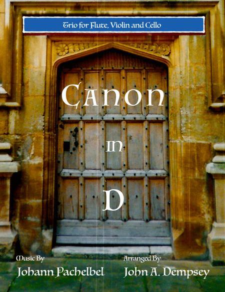 Canon in D (Trio for Flute, Violin and Cello)