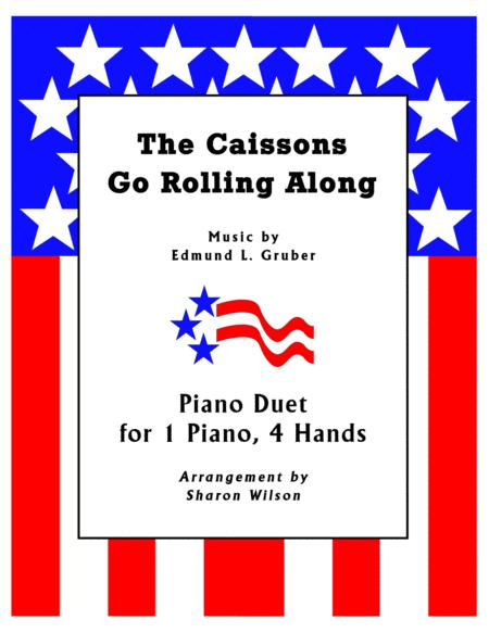 The Caissons Go Rolling Along (1 Piano, 4 Hands Duet)
