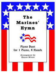 The Marines' Hymn (1 Piano, 4 Hands Duet)