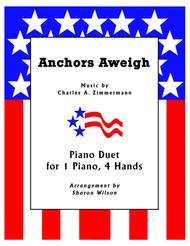 Anchors Aweigh (1 Piano, 4 Hands Duet)