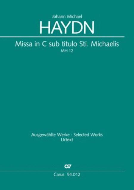 Missa Sti Michaelis auch Org MH 12