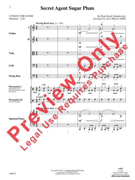 Sheet Music Extract for ORCHESTRA - BAND
