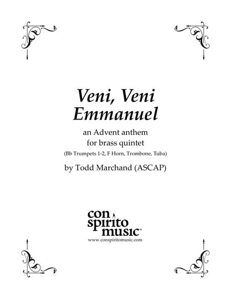 Veni, Veni Emmanuel - an Advent anthem for brass