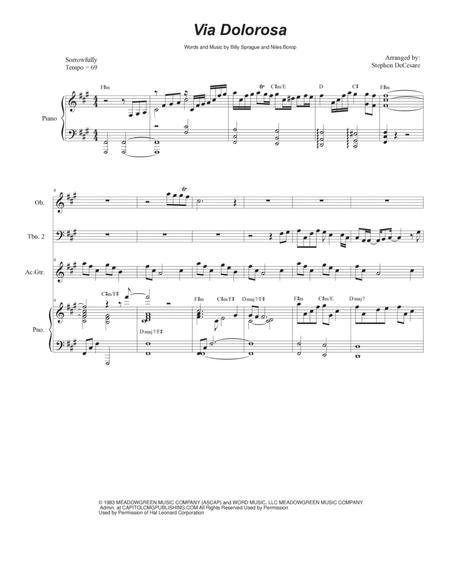 Via Dolorosa (Trombone Duet)