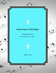 Impromptu in Ab Major - piano solo